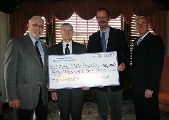 Security Savings Charitable Foundation Trustee Scholarship established