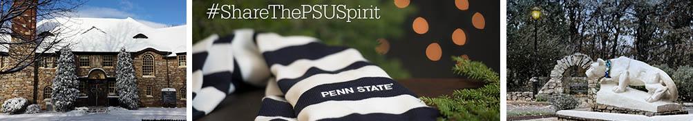 Winter photos of Penn State Hazleton