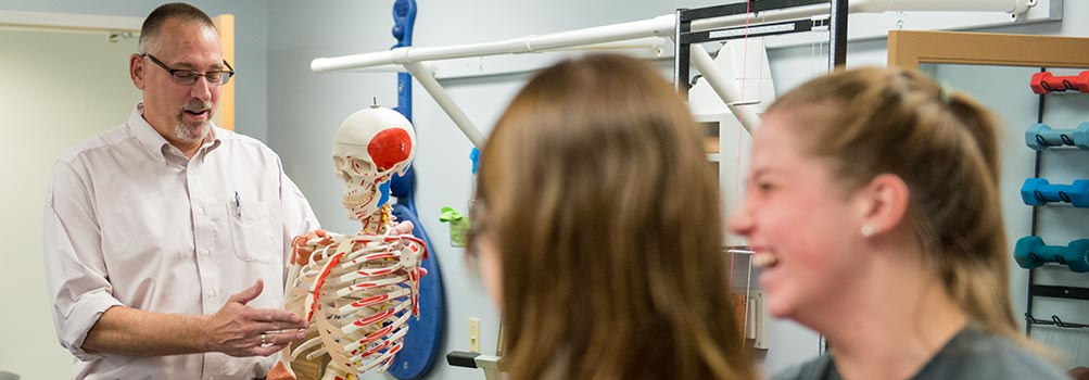 Photo of faculty in the Associate of Science in Physical Therapist Assistant program