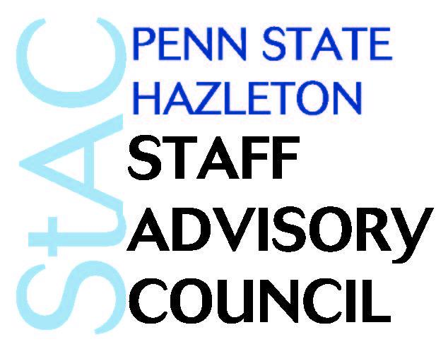Penn State Hazleton Staff Advisory Council text