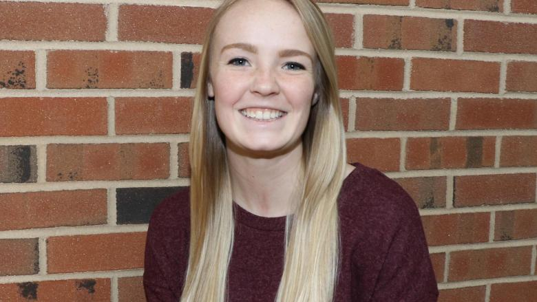 McKenzie Prutsman has been named Student of the Month for January 2018.