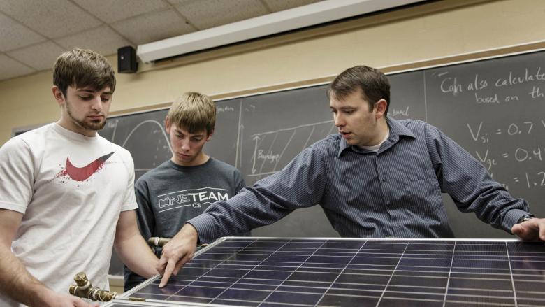 Assistant Professor of Engineering Joseph Ranalli is leading the engineering program at Penn State Hazleton.