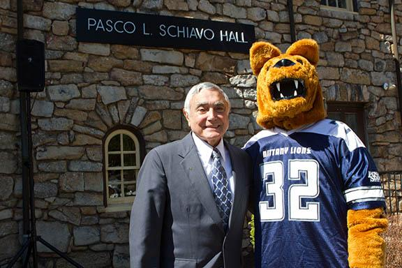 Pasco Schiavo, a longtime supporter and benefactor of Penn State Hazleton, passed away Dec. 29, 2018.